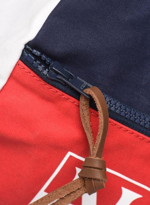 Sporttaschen Napapijri Sarov 1 blau ansicht von links