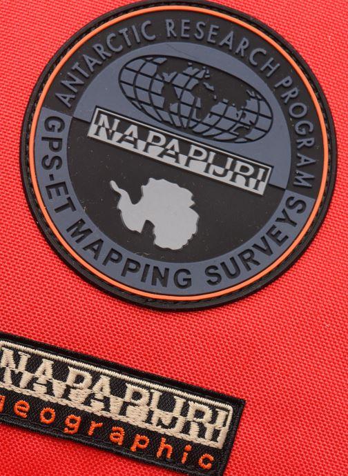 Sacs à dos Napapijri Voyage 1 Rouge vue gauche