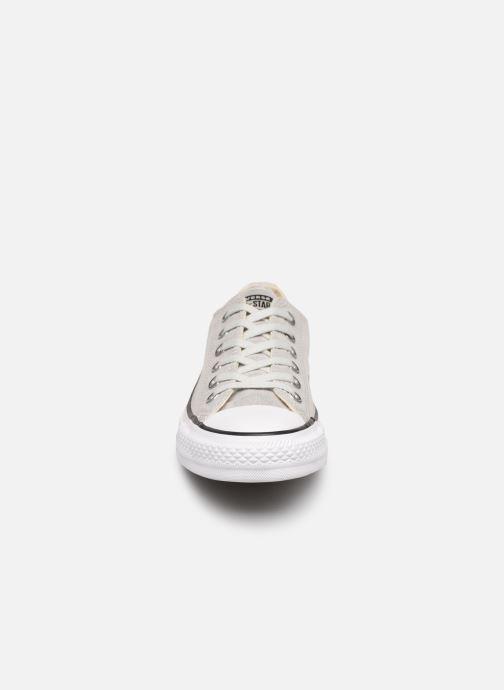 Sneaker Converse Chuck Taylor All Star Twilight Court Ox grau schuhe getragen