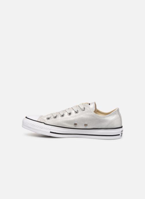 Sneaker Converse Chuck Taylor All Star Twilight Court Ox grau ansicht von vorne