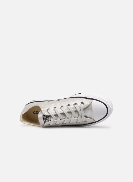 Sneaker Converse Chuck Taylor All Star Twilight Court Ox grau ansicht von links