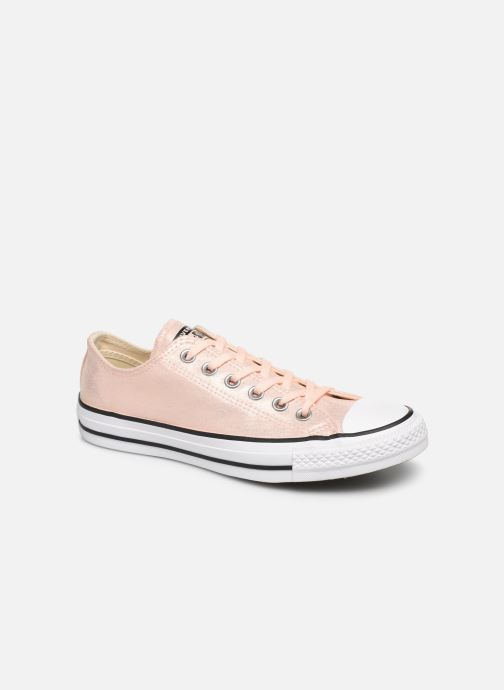 Baskets Converse Chuck Taylor All Star Twilight Court Ox Rose vue détail/paire