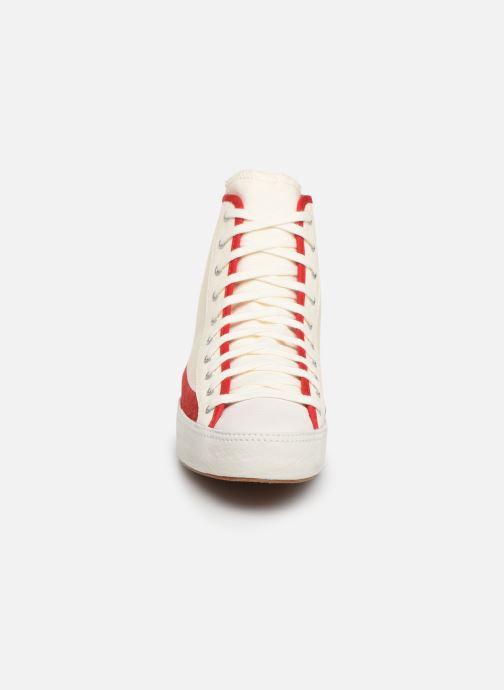 Baskets Converse Converse Sasha Bloom in Season Foundation Hi Blanc vue portées chaussures