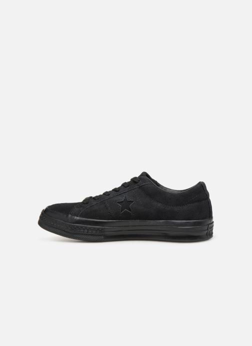 Sneakers Converse One Star Soft Suede Ox Nero immagine frontale