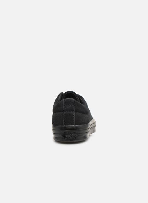 Baskets Converse One Star Soft Suede Ox Noir vue droite