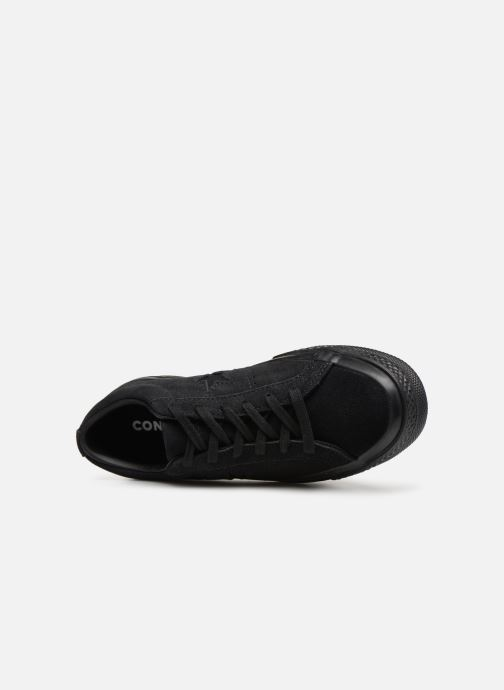 Sneakers Converse One Star Soft Suede Ox Nero immagine sinistra