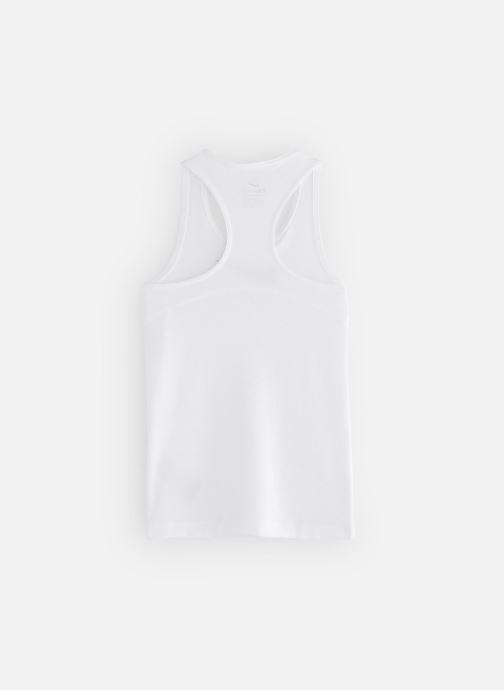 Vêtements Nike Nike Pro Tank Blanc vue bas / vue portée sac