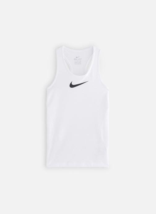Vêtements Nike Nike Pro Tank Blanc vue détail/paire