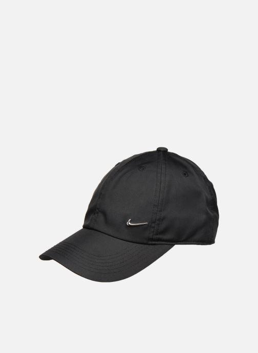 Gorra Nike Nike Metal Swoosh JUNIOR Negro vista de detalle / par