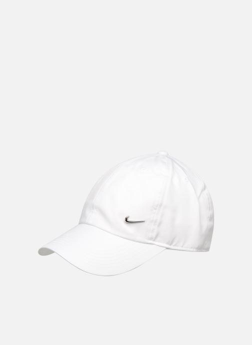 Casquettes Nike Nike Metal Swoosh JUNIOR Blanc vue détail/paire