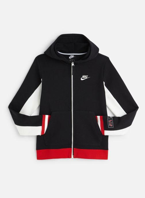 Kleding Nike Nike Air Hoodie Full Zip Zwart detail