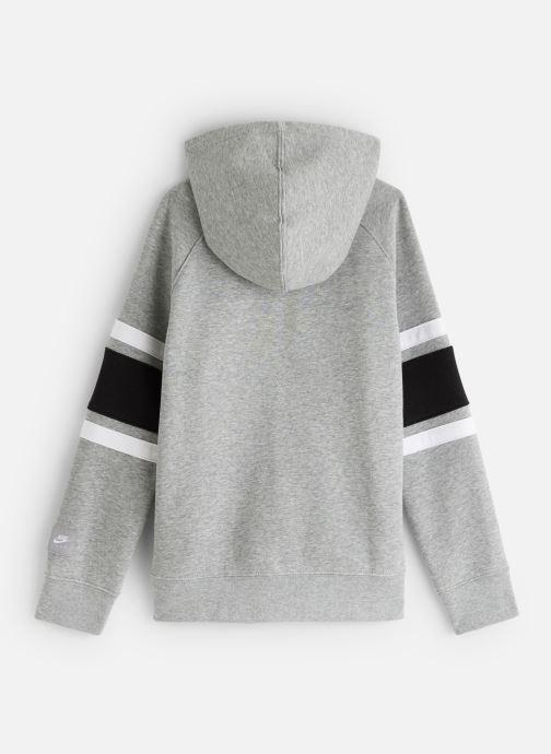 Vêtements Nike Nike Air Hoodie Full Zip Gris vue bas / vue portée sac