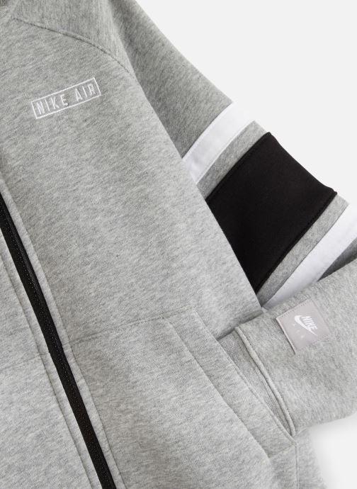 Vêtements Nike Nike Air Hoodie Full Zip Gris vue portées chaussures