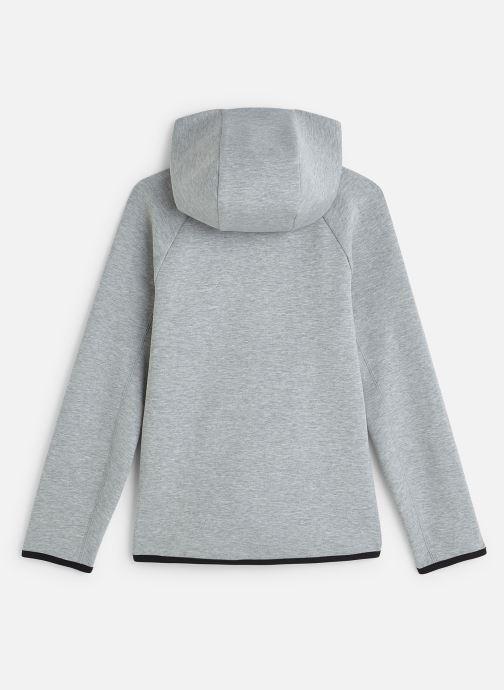 Ropa Nike Nike Sportswear Tech Fleece Full Zip Essentials Gris vista de abajo