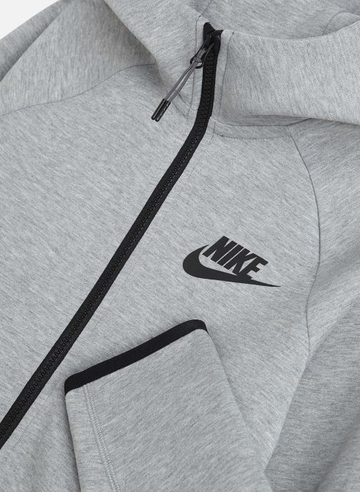 Vêtements Nike Nike Sportswear Tech Fleece Full Zip Essentials Gris vue portées chaussures