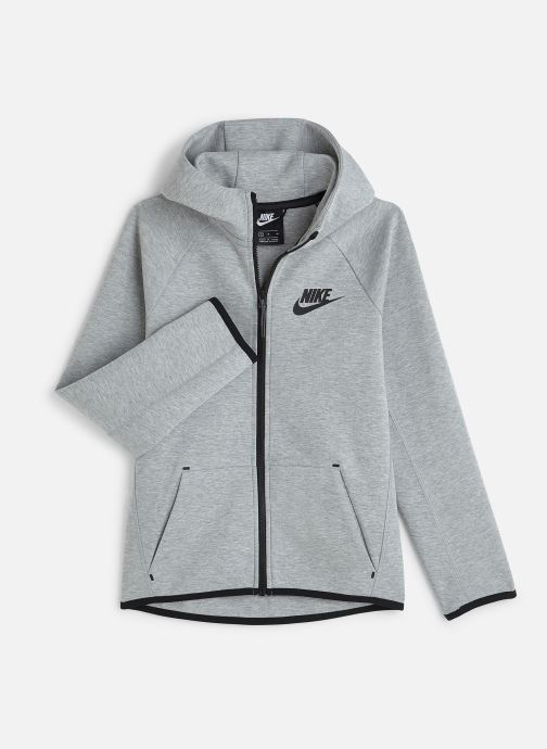 Vêtements Nike Nike Sportswear Tech Fleece Full Zip Essentials Gris vue détail/paire