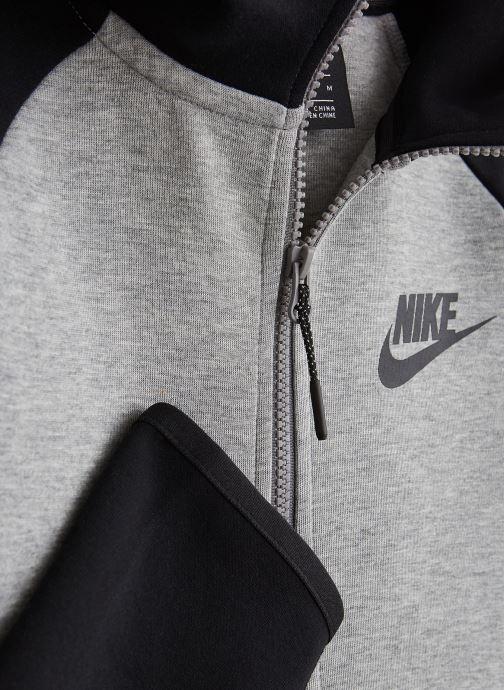 Ropa Nike Nike Sportswear Tech Fleece Full Zip Essentials Gris vista del modelo