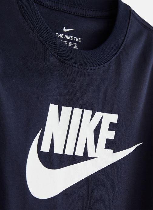 Abbigliamento Nike Nike Sportswear Tee Futura Icon Azzurro modello indossato