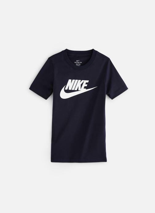 official photos c3f1c 9d3f9 Vêtements Nike Nike Sportswear Tee Futura Icon Bleu vue détail paire