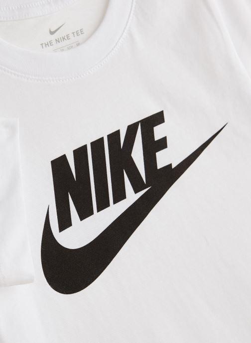 Kleding Nike Nike Sportswear Tee Futura Icon Wit model