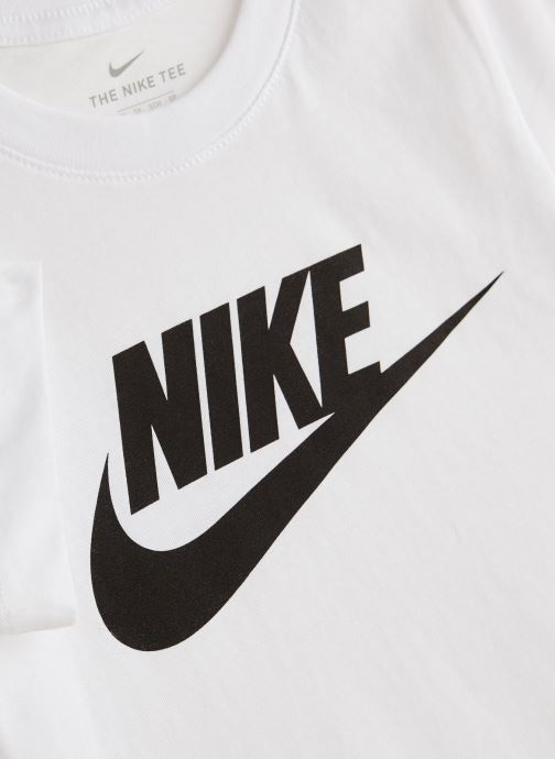 Tøj Nike Nike Sportswear Tee Futura Icon Hvid se skoene på