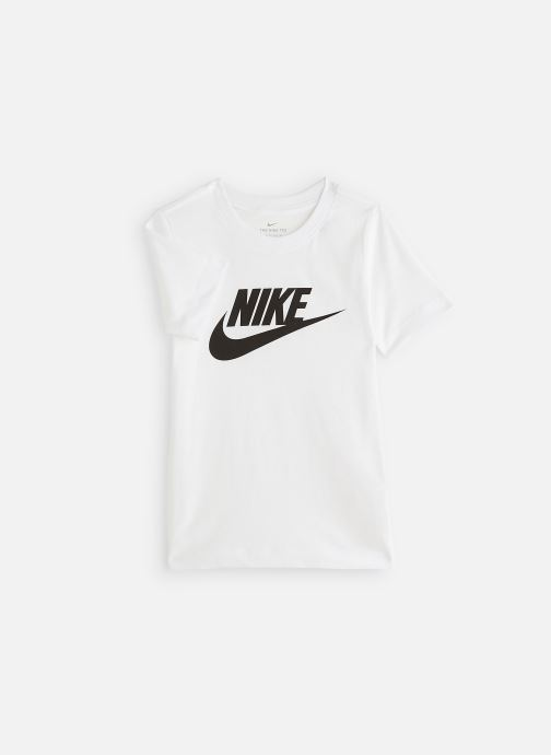 Tøj Nike Nike Sportswear Tee Futura Icon Hvid detaljeret billede af skoene