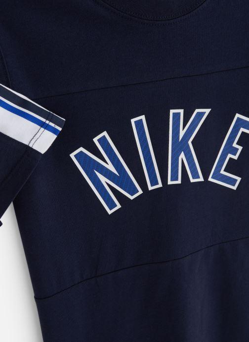 Kleding Nike Nike Sportswear Tee Nike Air S+ Blauw model