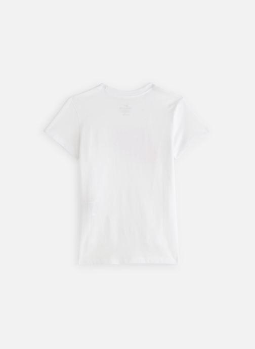 Kläder Nike Tee Basic Futura JUNIOR Vit bild från under