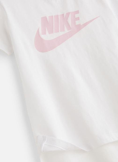 Kläder Nike Tee Basic Futura JUNIOR Vit bild av skorna på