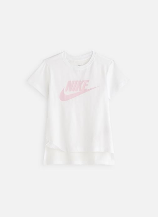Kläder Nike Nike Sportswear Tee Basic Futura Vit detaljerad bild på paret