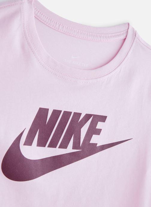 Kläder Nike Nike Sportswear Tee Basic Futura Rosa bild av skorna på