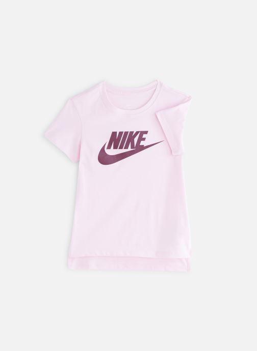 Kläder Nike Nike Sportswear Tee Basic Futura Rosa detaljerad bild på paret