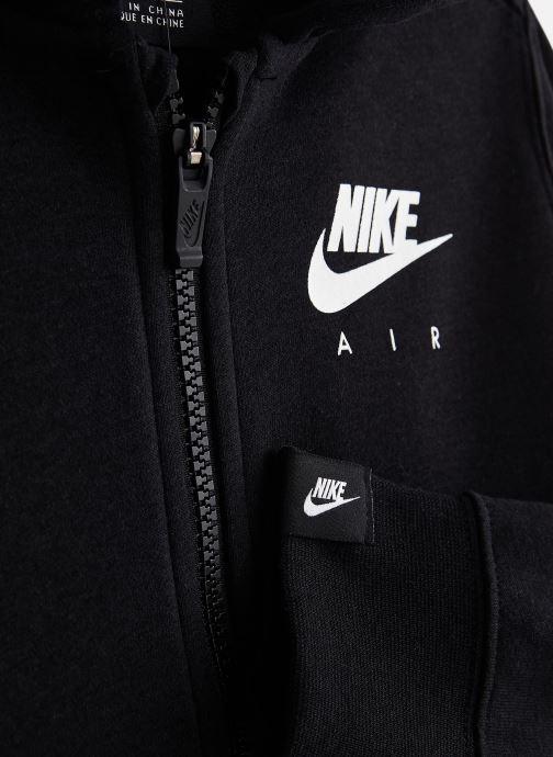 Kläder Nike G Nsw Nike Air Fz JUNIOR Svart bild av skorna på