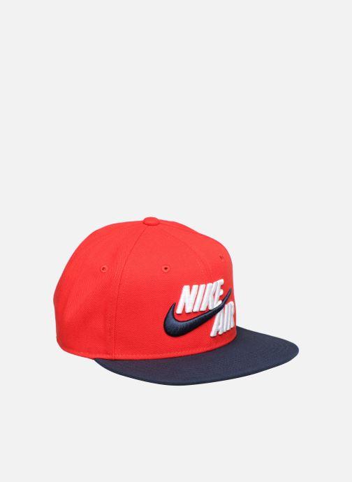 Cappellino Nike Nike Pro Cap Air 5 JUNIOR Rosso modello indossato