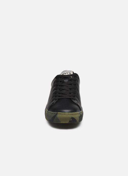 Sneaker Levi's Vernon Sportswear schwarz schuhe getragen