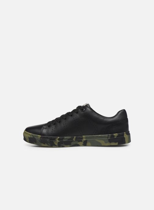 Sneaker Levi's Vernon Sportswear schwarz ansicht von vorne