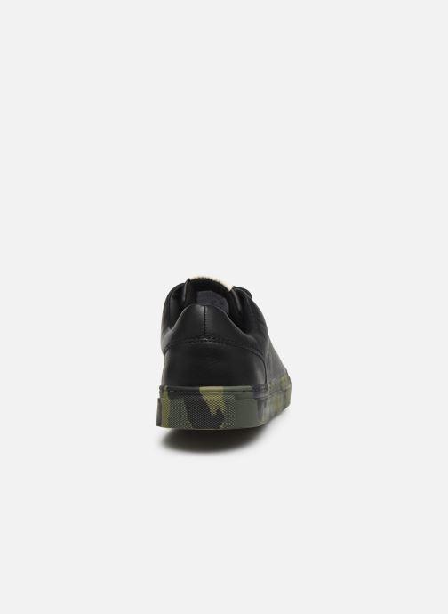 Sneaker Levi's Vernon Sportswear schwarz ansicht von rechts