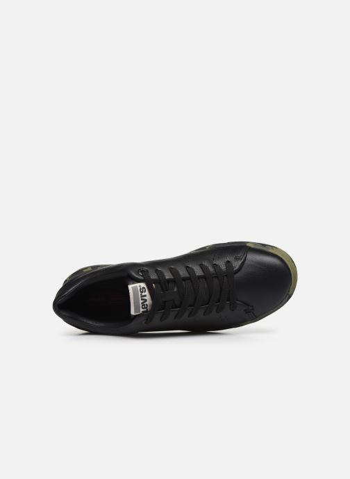 Sneaker Levi's Vernon Sportswear schwarz ansicht von links