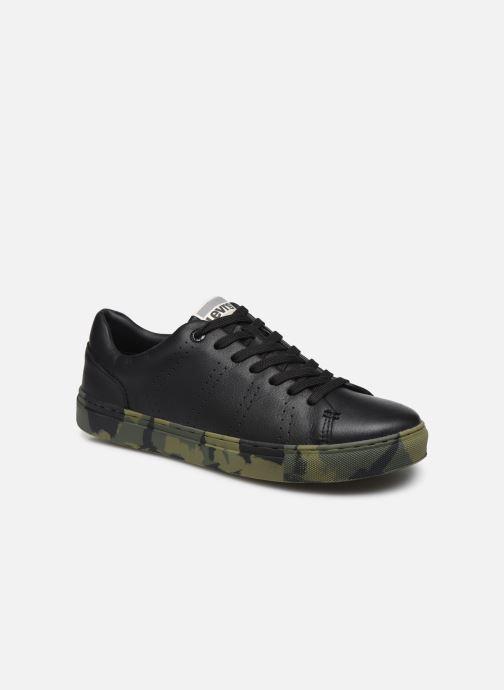 Sneaker Levi's Vernon Sportswear schwarz detaillierte ansicht/modell