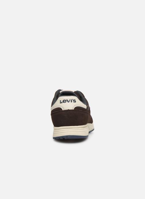 Baskets Levi's Sutter Marron vue droite
