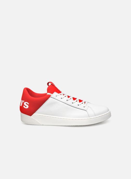 Sneakers Levi's Mullet Wit achterkant