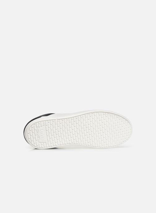 Baskets Levi's Mullet Blanc vue haut