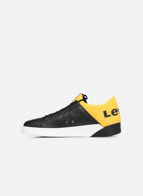 Sneaker Levi's Mullet schwarz ansicht von vorne