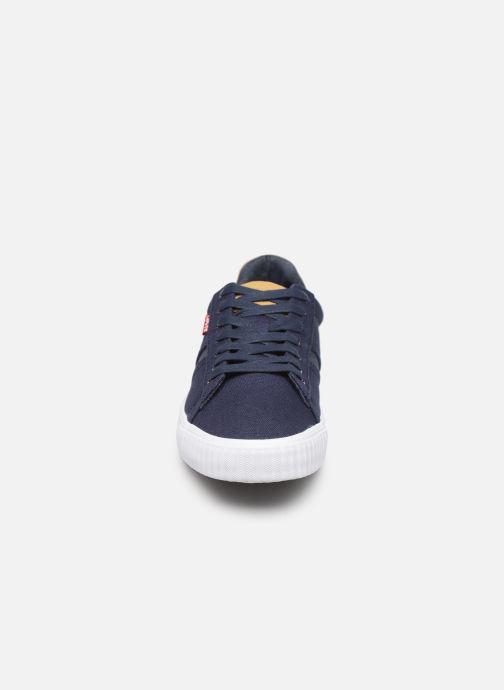 Baskets Levi's Skinner Bleu vue portées chaussures