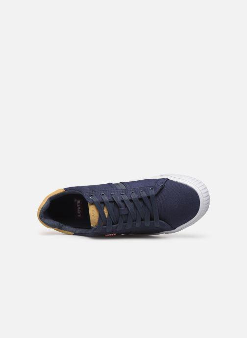 Sneaker Levi's Skinner blau ansicht von links