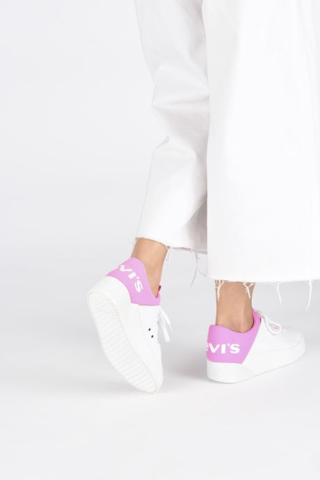 Sneakers Levi's Mullet S Wit onder