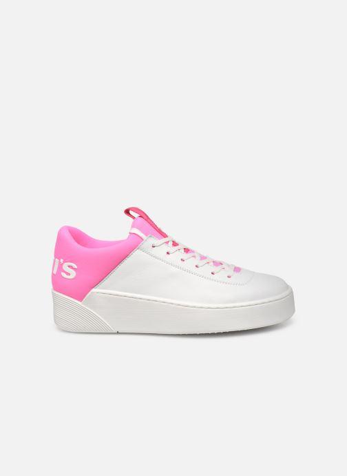 Sneakers Levi's Mullet S Wit achterkant
