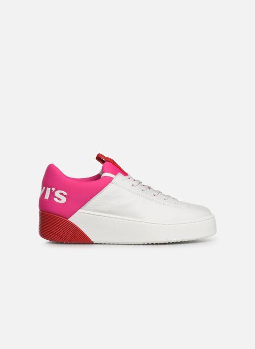 Sneaker Levi's Mullet S weiß ansicht von hinten