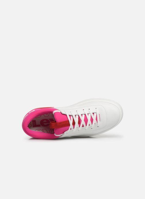 Sneaker Levi's Mullet S weiß ansicht von links