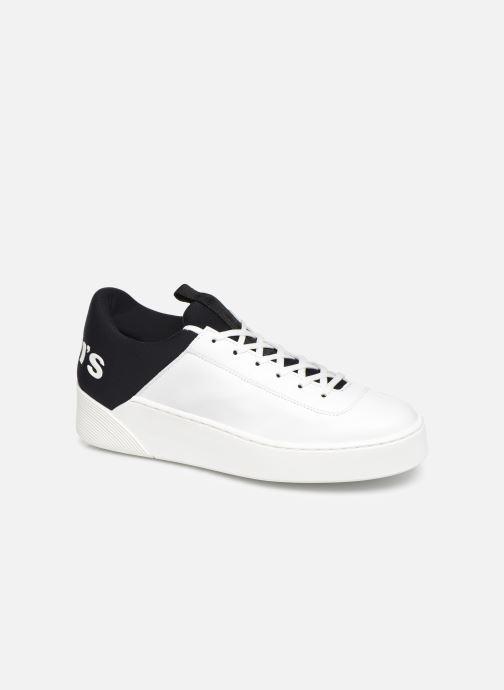 Baskets Levi's Mullet S Blanc vue détail/paire